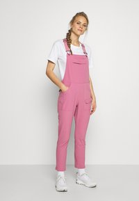 Burton - WOMENS CHASEVIEW OVERALL - Outdoor trousers - rosebud - 1
