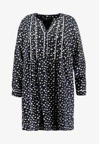 ZAY - YLAURINE DRESS - Shirt dress - black - 5