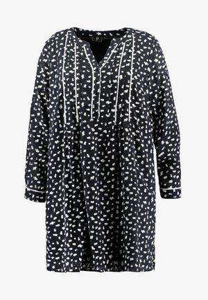 YLAURINE DRESS - Shirt dress - black