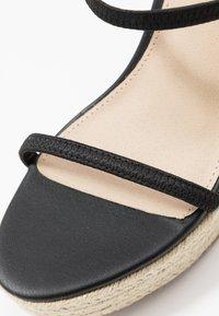 Steve Madden - SKYLIGHT - High heeled sandals - black - 2