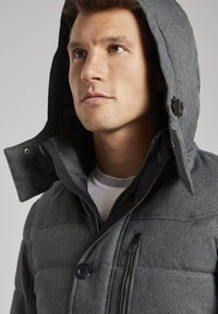 TOM TAILOR - Winterjas - mid grey structure - 3