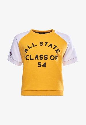 COLLEGIATE - Print T-shirt - utah gold