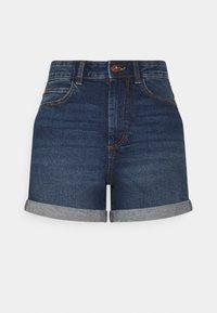 PIECES Tall - PCPACY  - Denim shorts - medium blue denim - 0