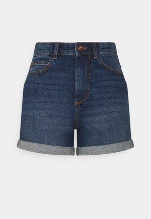 PCPACY  - Shorts di jeans - medium blue denim