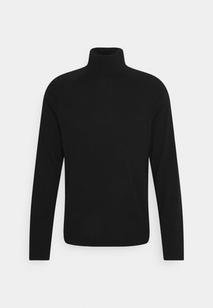TREY TURTLENECK SWEATER - Stickad tröja - black