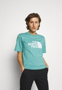 The North Face - SUMMER BOYFRIEND TEE - Print T-shirt - bristol blue - 0