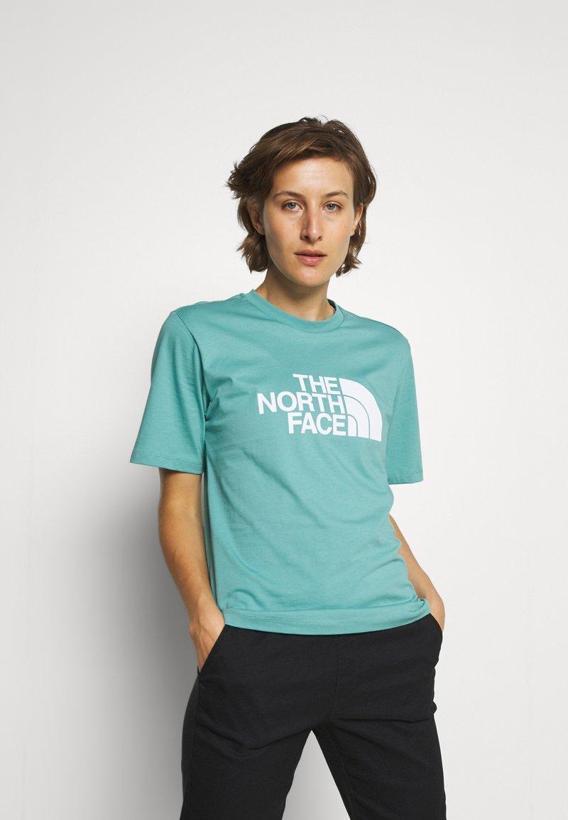 The North Face - SUMMER BOYFRIEND TEE - Print T-shirt - bristol blue