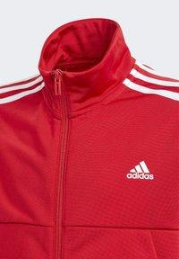 adidas Performance - TIRO TRACKSUIT - Tracksuit - red - 8