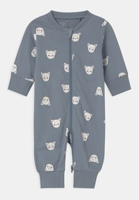 Lindex - CAT FACES UNISEX - Pyjamas - blue - 0