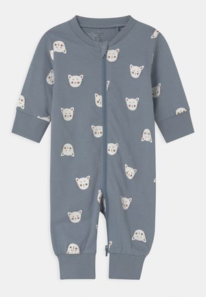 CAT FACES UNISEX - Pyjamas - blue