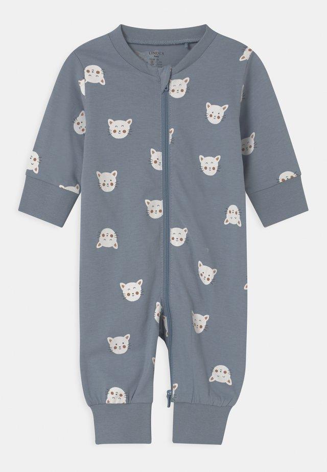 CAT FACES UNISEX - Pyžamo - blue