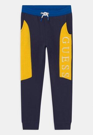JUNIOR ACTIVE LONG UNISEX - Pantaloni sportivi - blue/yellow
