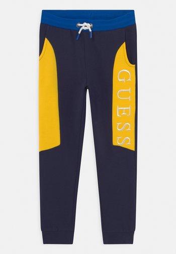 JUNIOR ACTIVE LONG UNISEX - Jogginghose - blue/yellow
