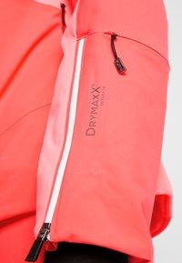 Halti - SAARUA JACKET - Lyžařská bunda - neon fiery coral - 7