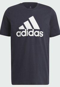 adidas Performance - T-shirt z nadrukiem - dark blue - 6
