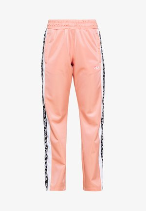TAOTRACK PANTS OVERLENGTH - Joggebukse - lobster bisque / bright white