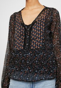 Hollister Co. - FASHION - Blouse - black mix - 4
