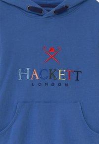 Hackett London - MULTI LETTERS - Mikina - bright blue - 2