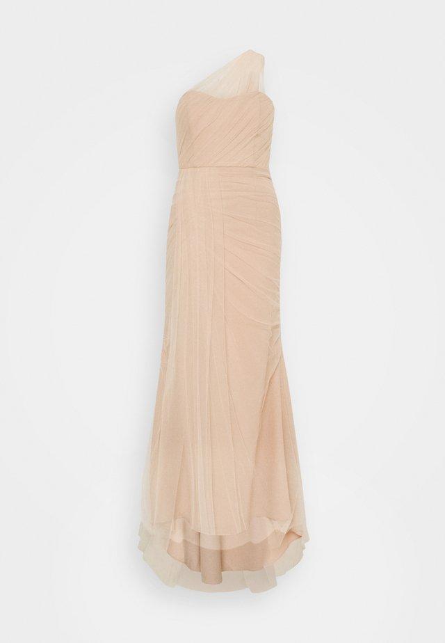 ELLE - Společenské šaty - nude