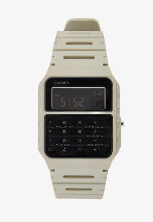 CA-53WF DIGITAL VINTAGE - Digitaal horloge - off-white