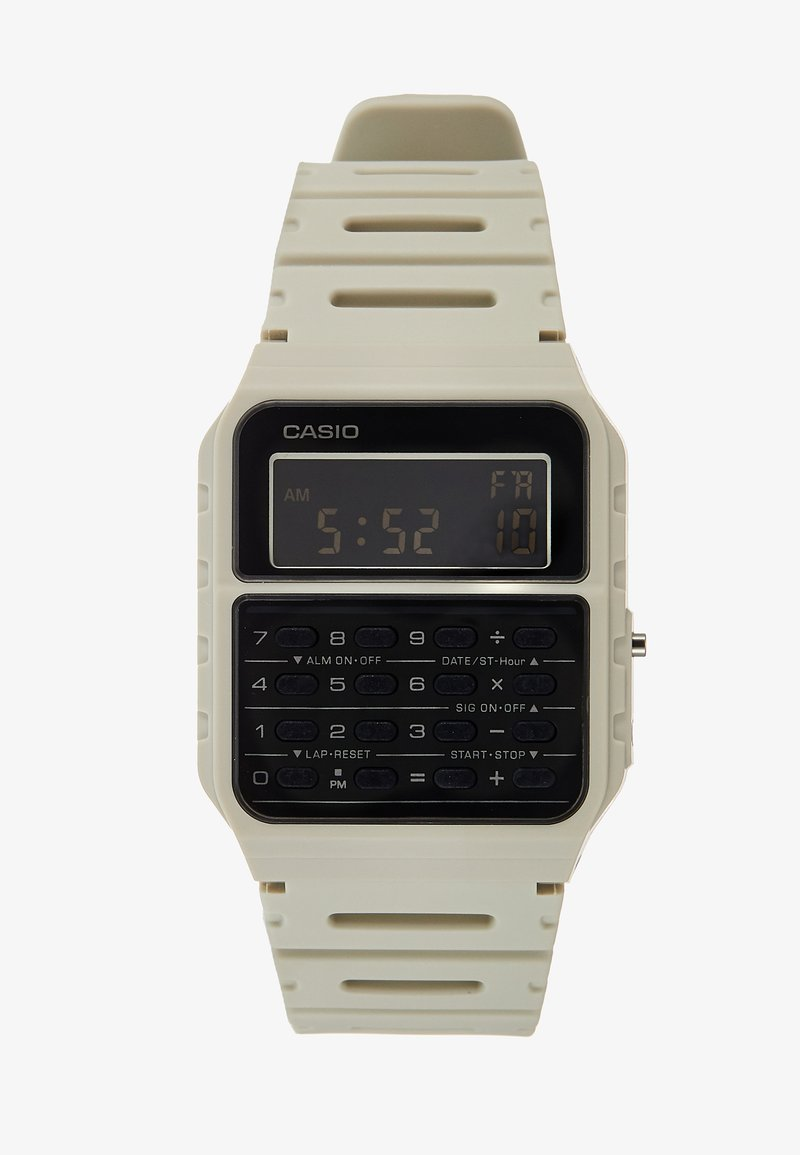 Casio - CA-53WF DIGITAL VINTAGE - Digital watch - off-white