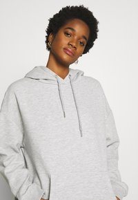 Nly by Nelly - OVERSIZED HOODIE - Hoodie - grey melange - 3