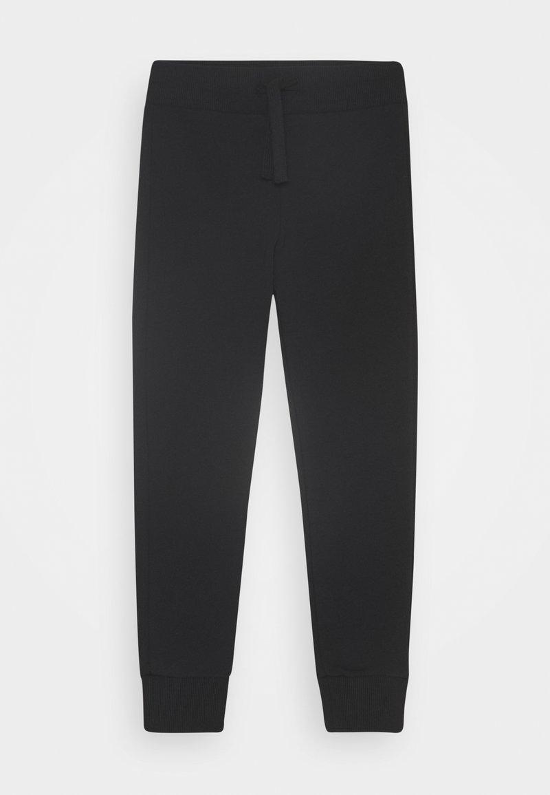 Benetton - BASIC BOY - Spodnie treningowe - black