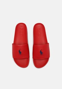 Polo Ralph Lauren - CAYSON UNISEX - Mules - red/navy - 3