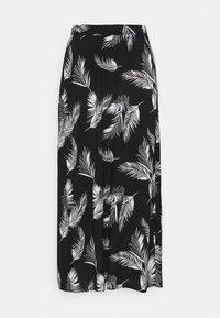 TESSA - Áčková sukně - black