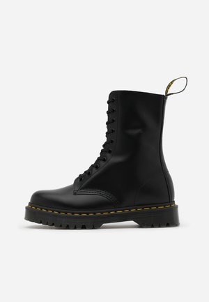 1490 BEX - Lace-up boots - black smooth