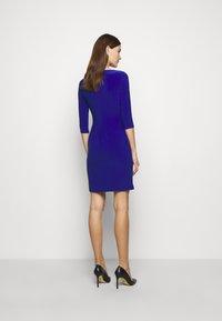 Lauren Ralph Lauren - MID WEIGHT DRESS TRIM - Robe fourreau - french ultramarin - 2