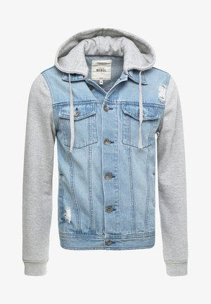 FUNDA JACKET - Kurtka jeansowa - light denim