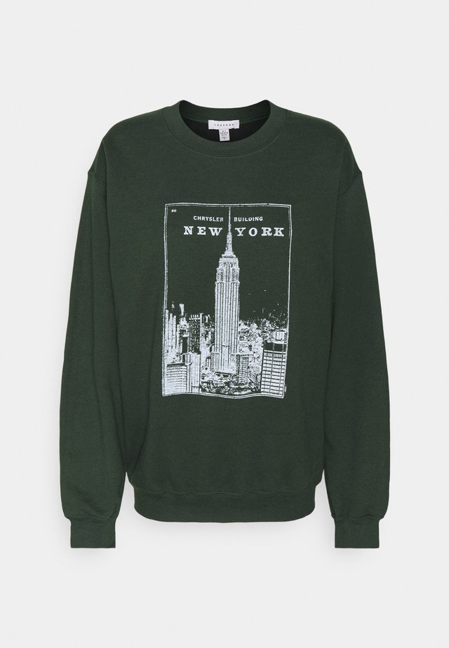 NEW YORK CHRYSLER - Sweatshirt - green