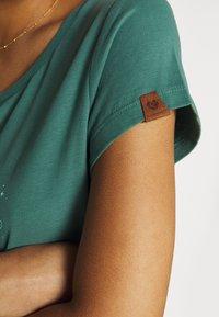 Ragwear - Print T-shirt - dusty green - 3