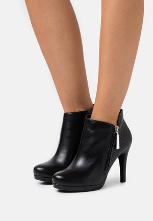 ACER - High heeled ankle boots - black