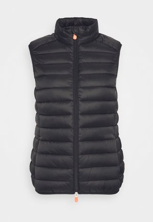 GIGAY - Waistcoat - black