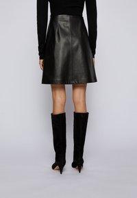 BOSS - A-line skirt - black - 2