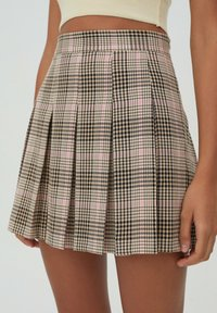 PULL&BEAR - A-snit nederdel/ A-formede nederdele - rose - 4