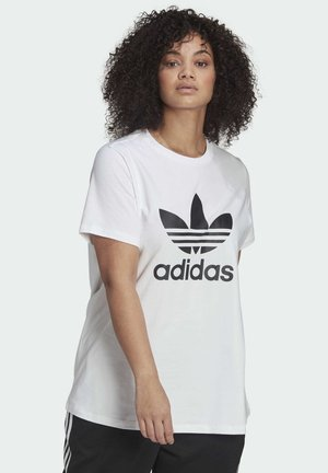 TREFOIL  - Print T-shirt - white
