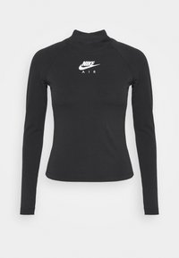 Nike Sportswear - Long sleeved top - black/white - 3