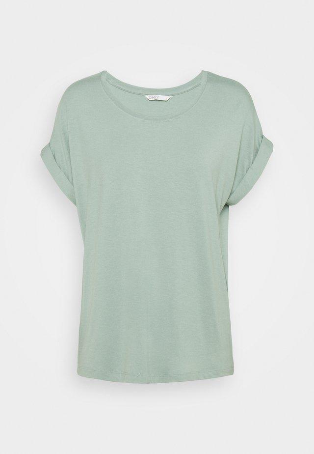 ONLMOSTER ONECK - T-shirts - jadeite