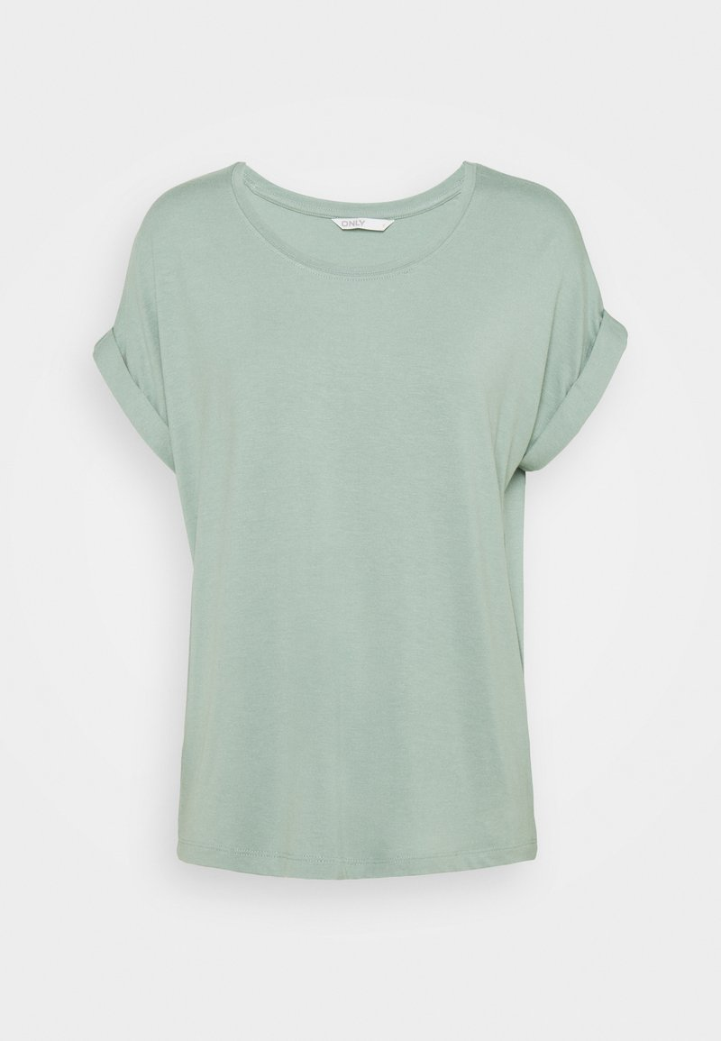 ONLY - ONLMOSTER ONECK - T-shirts - jadeite