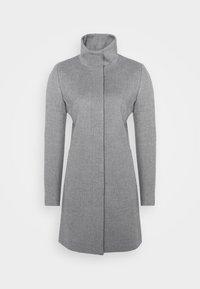 MALU - Classic coat - open grey