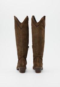Kanna - Cowboy/Biker boots - cortina taupe - 3