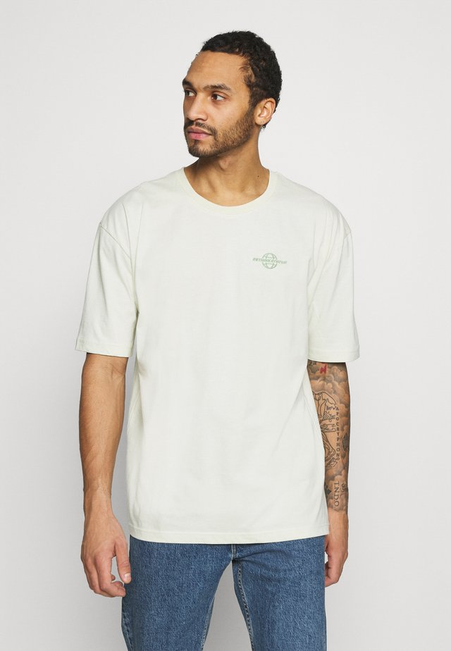 T-shirts med print - aloe wash