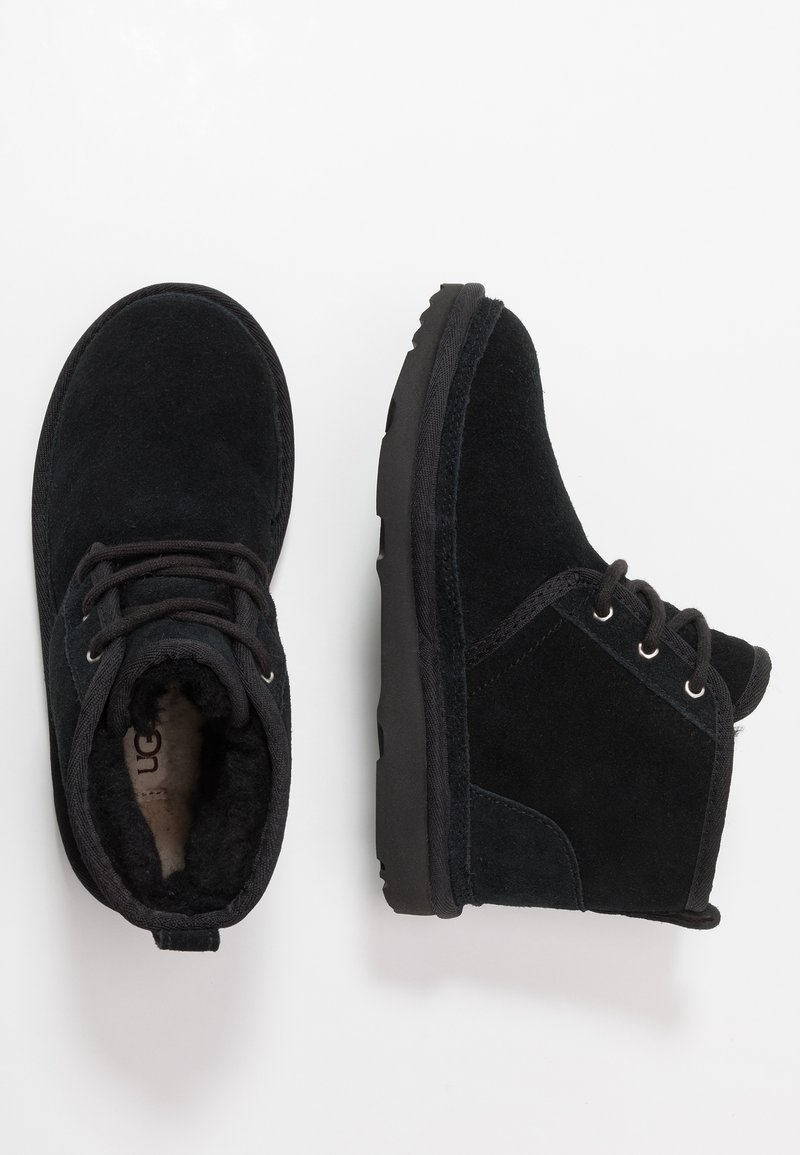 UGG - NEUMEL - Bottines à lacets - black