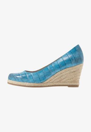 Wedges - light blue