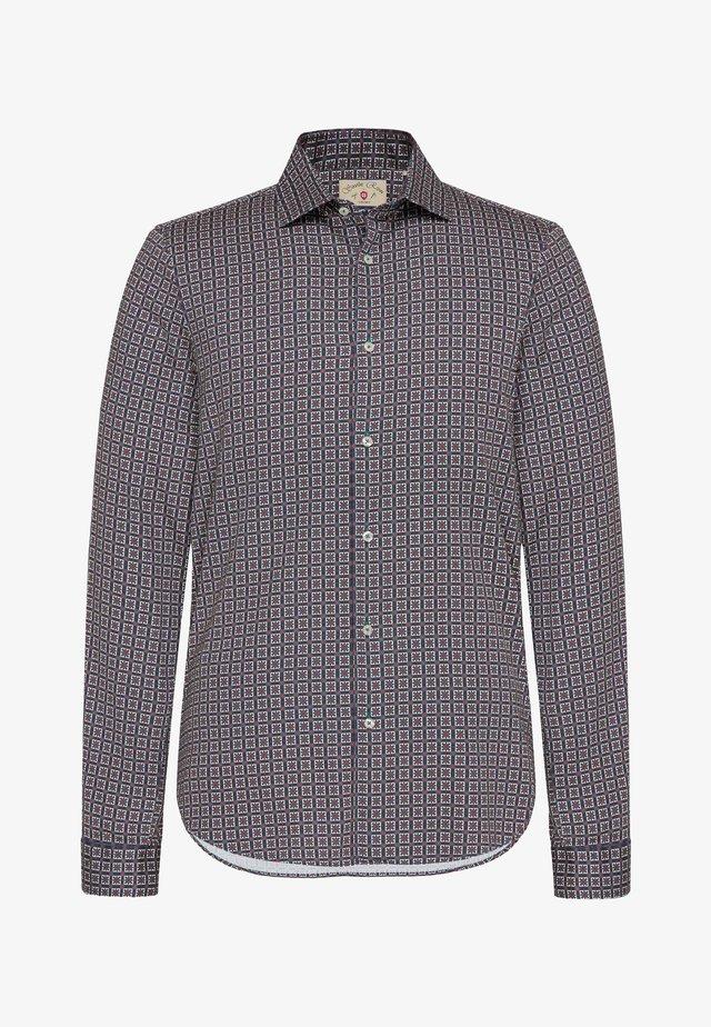 Shirt - brown/blue