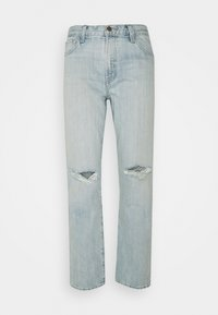 J Brand - TATE MIS RISE BOY FIT - Relaxed fit jeans - statis destruct - 0