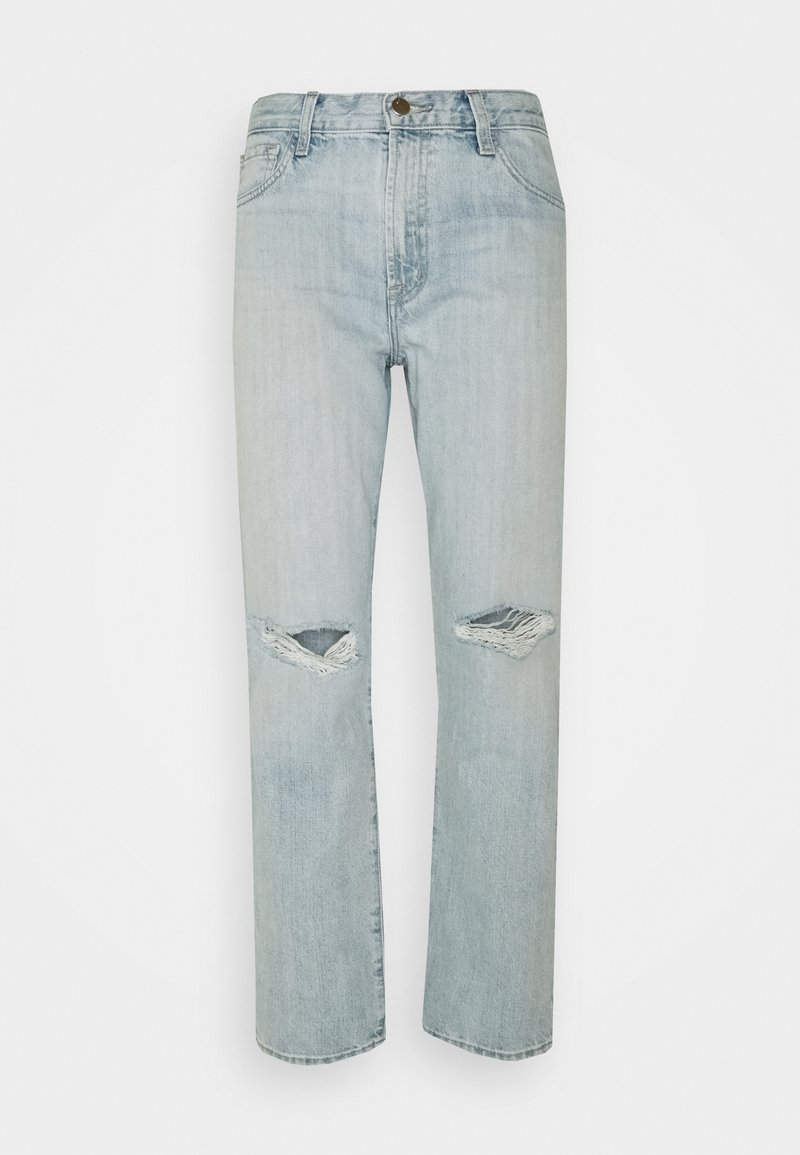 J Brand - TATE MIS RISE BOY FIT - Relaxed fit jeans - statis destruct